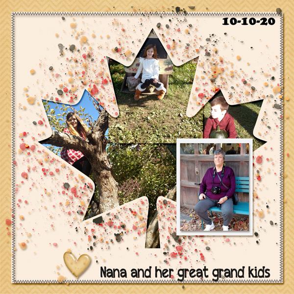 Nana and Great Grand-kids
