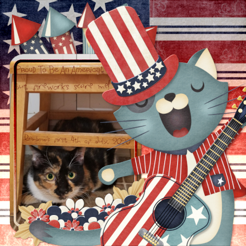 Rainbow's first 4th of July
