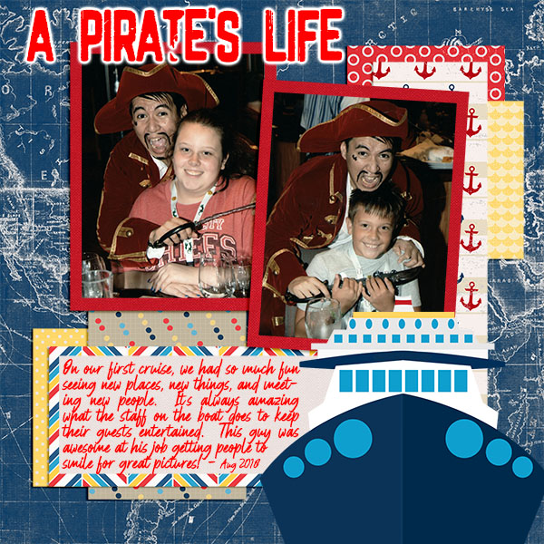 Pirates Life - Buffet Challenge July 2020