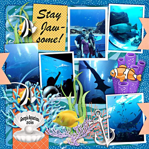 Andrea Georgia aquarium