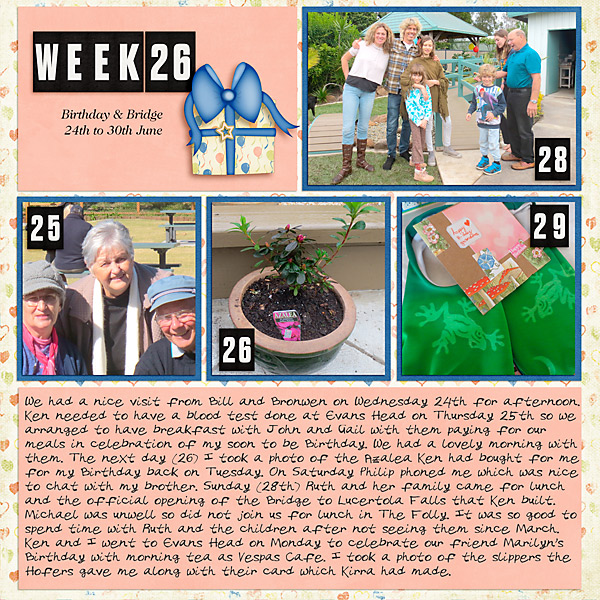 Project Life 2020 Week 26
