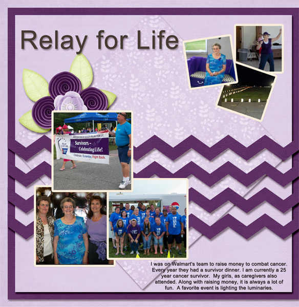 Relay for LIfe Walmart