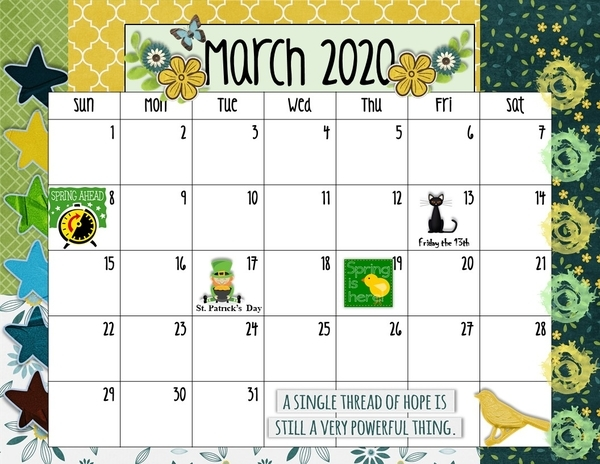 March 2020 Connie Prince Challenge