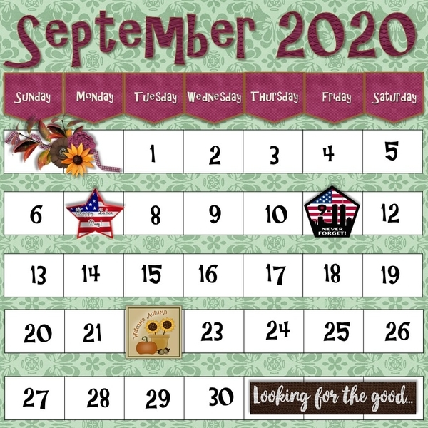 September 2020 Connie Prince Challenge