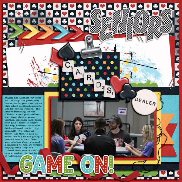 Seniors love playing card games 11.07.2020