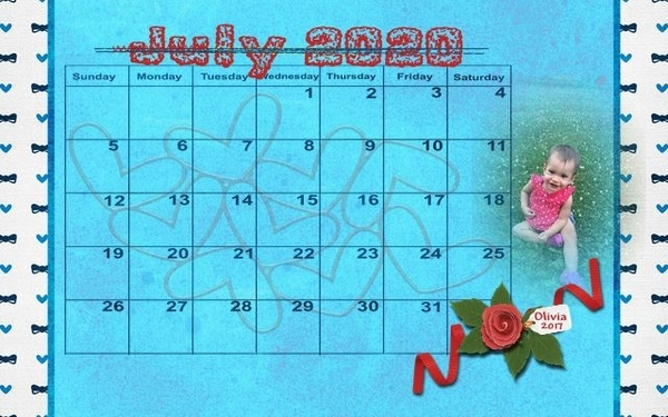 202007 Calendar