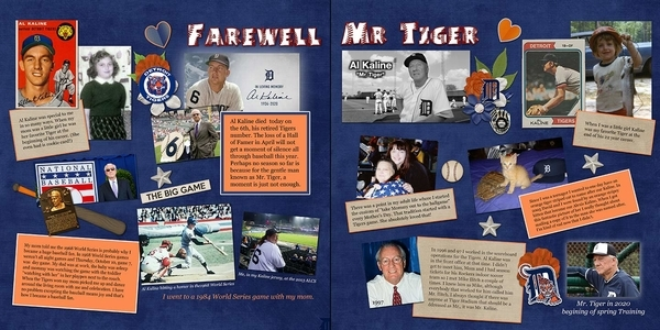 Farewell Mr. Tiger