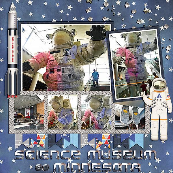 Sci Museum Astronaut