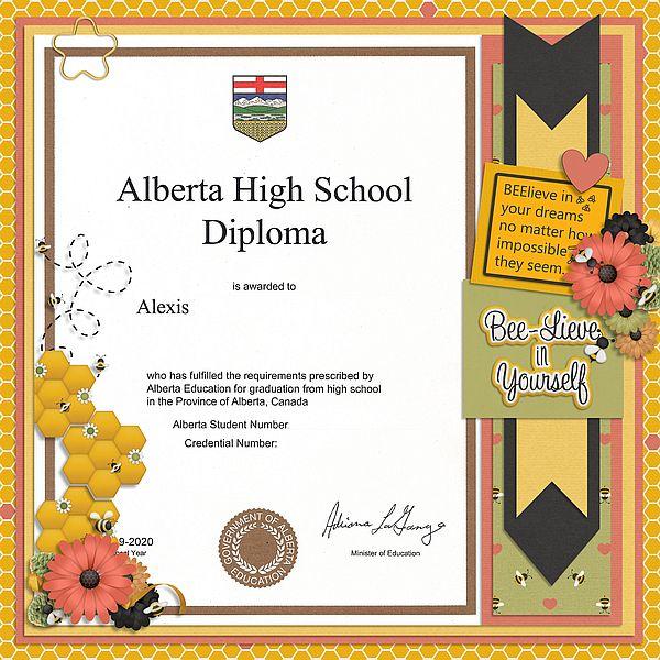 Alberta High School Diploma