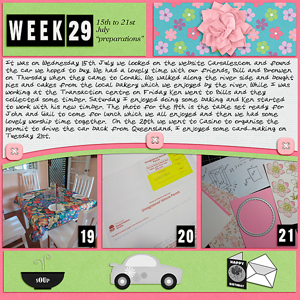 Project Life 2020 - Week 29
