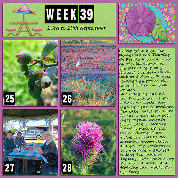 Project Life 2020 Week 39