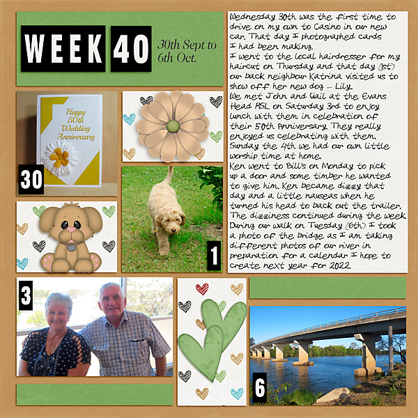 Project Life 2020 Week 40