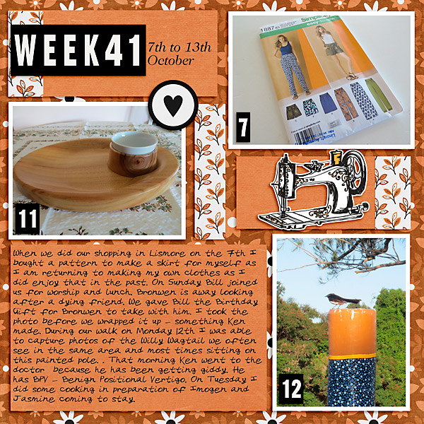 Project Life 2020 Week 41