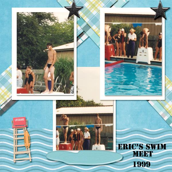 Eric's Swim Meet