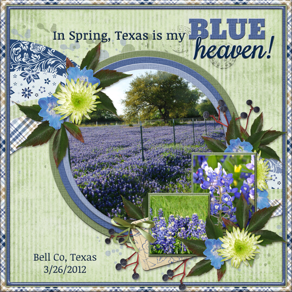 In Spring, Texas is my BLUE heaven!