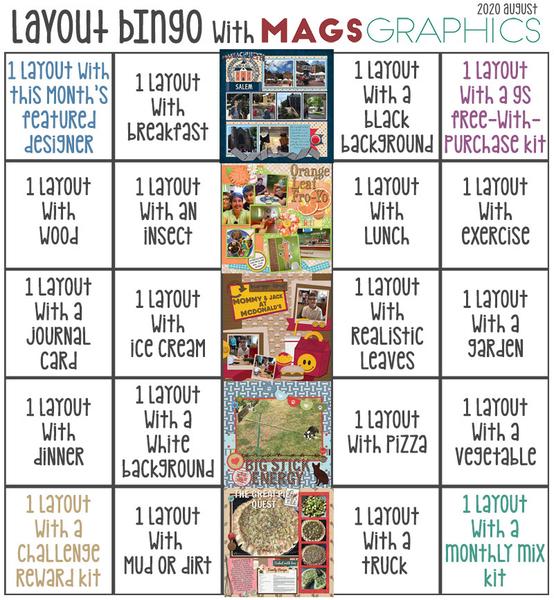 Aug 2020 Bingo