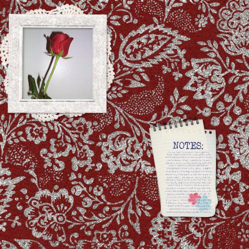 My First Valentine's Rose