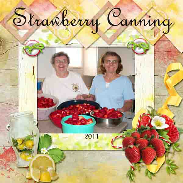 Strawberry Canning