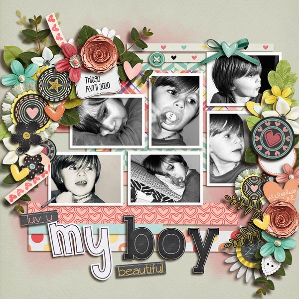 Luv U my beautiful boy