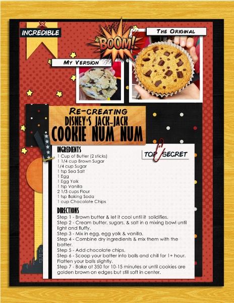 Disney Jack Jack Cookie Num Num Recipe