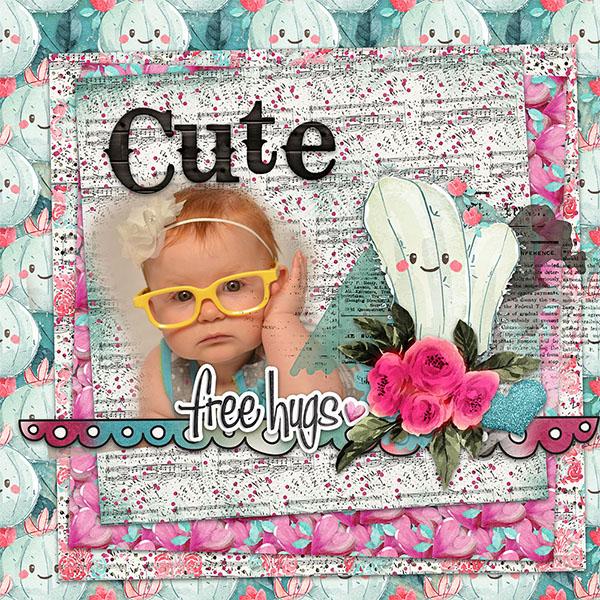 Succulent Love By Cutie Pie Scraps