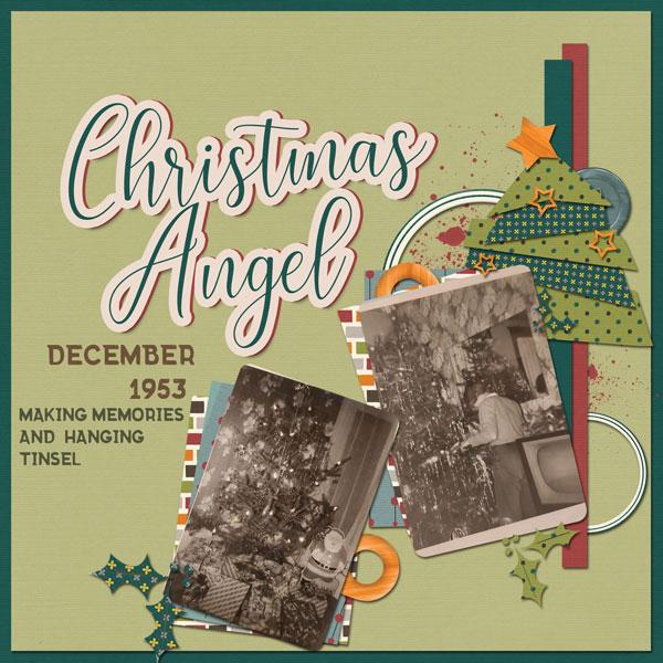 Christmas Angel | Template Challenge