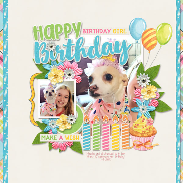 Happy Birthday Meesha
