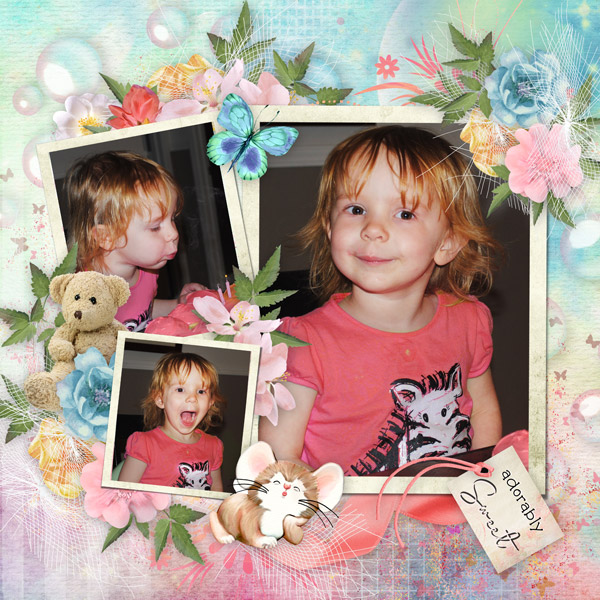 Adorably Sweet Lizzie