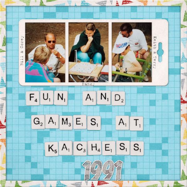 Fun and Games at Kachess 1991