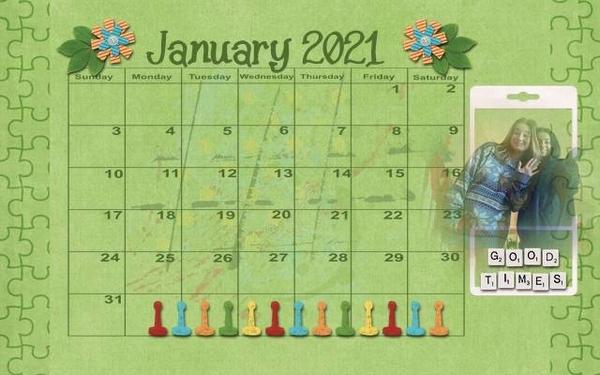 202101 Calendar