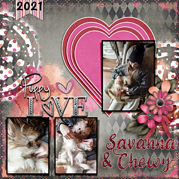 Savanna's Puppy Love