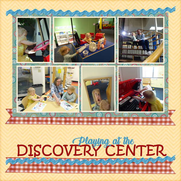 Playing at the Discovery Center