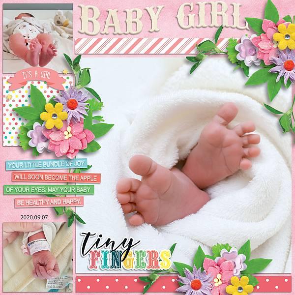 Baby shower: girl