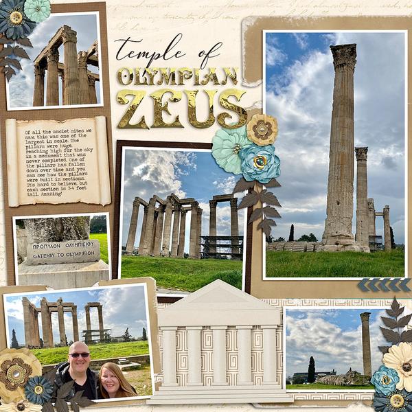 ~Temple of Olympian Zeus~