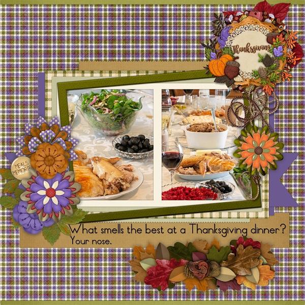 Thanksgiving Meal Pun