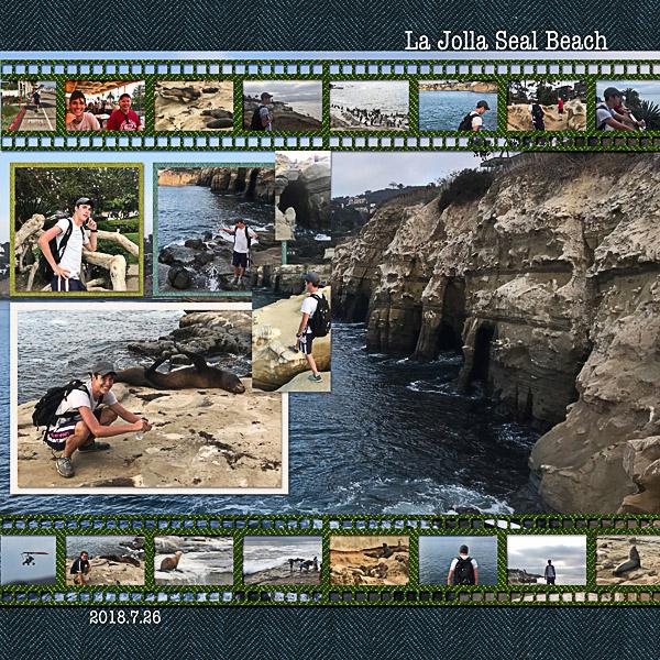 La Jolla Seal Beach