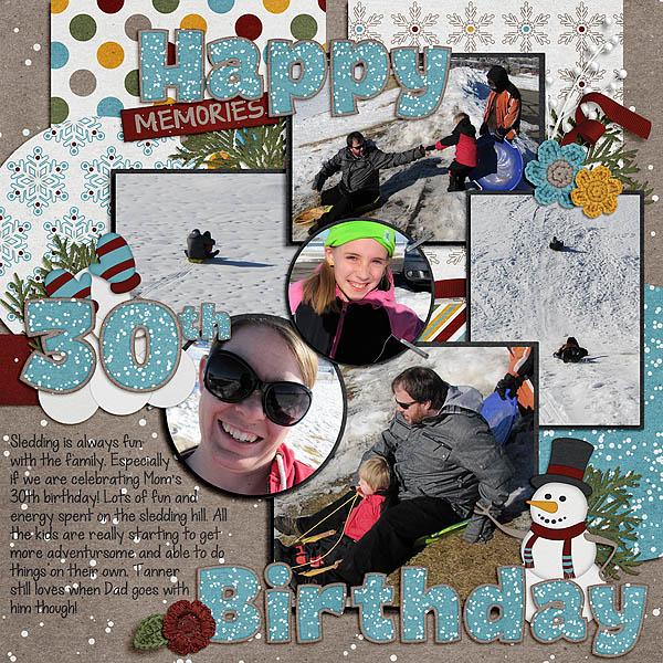 02-02-13 Sledding Birthday