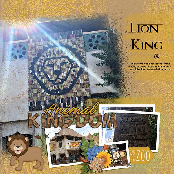 Lion King at Animal Kingdom