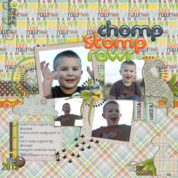 chomp stomp rawr
