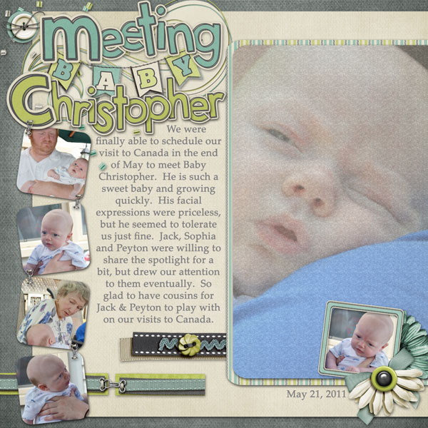 Meeting Baby Christopher