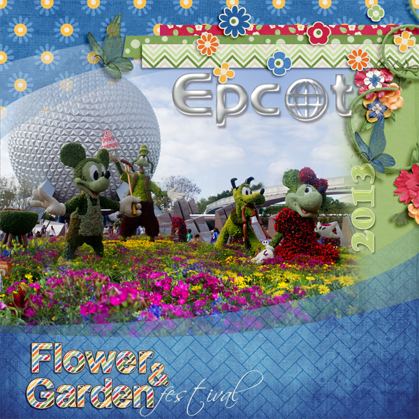 Epcot Flower and Garden 2013