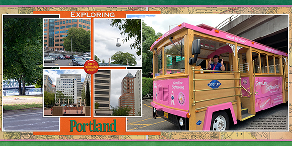 Pink Trolley Tour- Portland