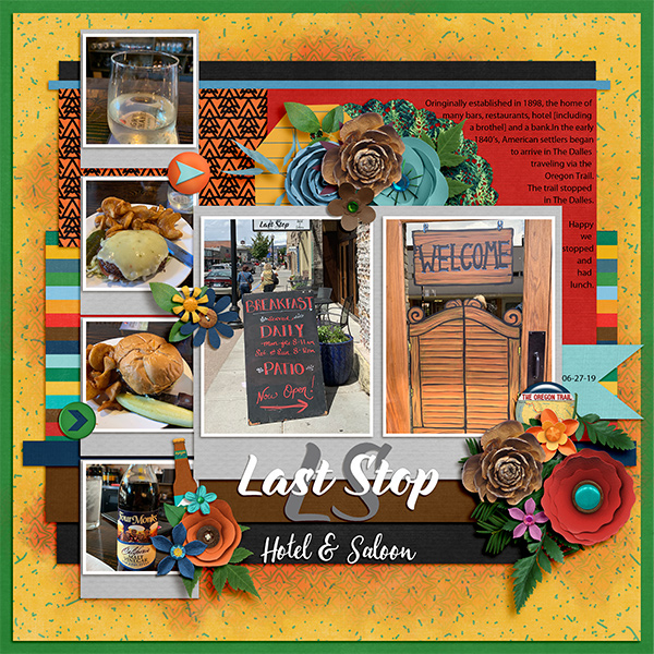 Last Stop [lunch]
