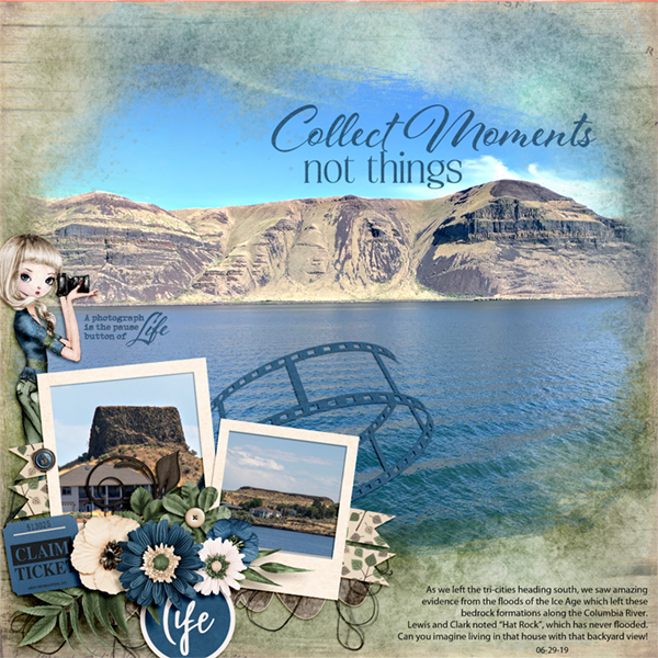 Collect Moments- on the Columbia River