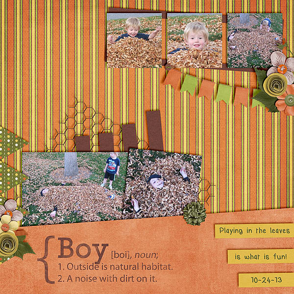 10-13 Boys Leaves