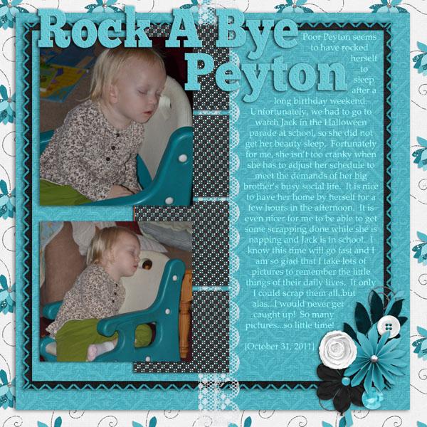 Rock a Bye Peyton