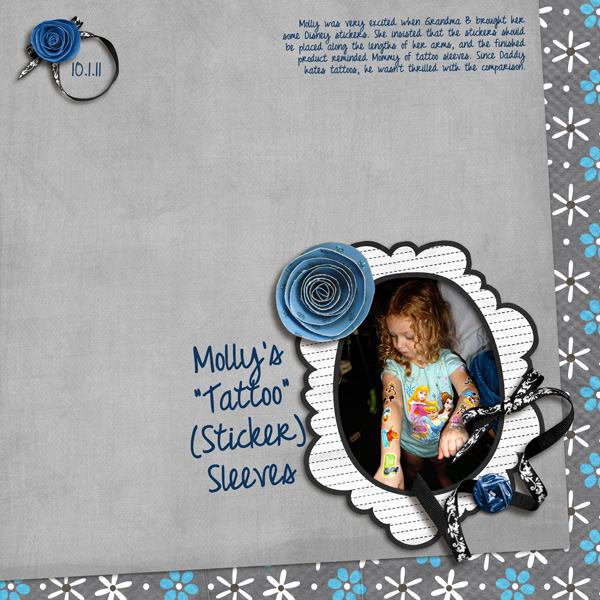Molly's Tattoo Sticker Sleeves