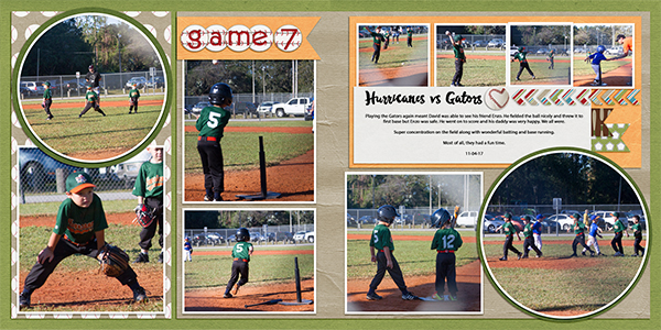 Game 7 T-ball Hurricanes vs Gators