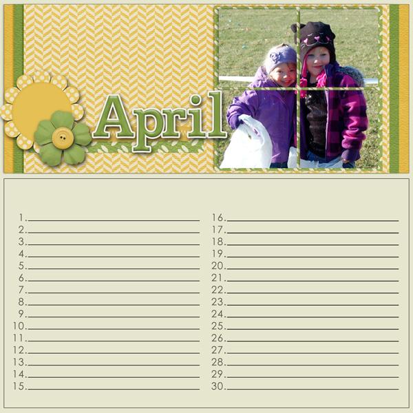 Birthday Calendar
