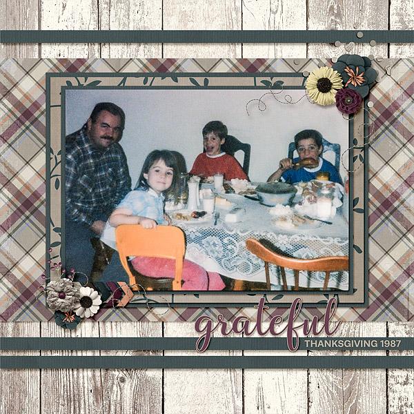 Thanksgiving 1987